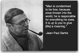 Jean Paul Sartre – THE GENERALIST via Relatably.com
