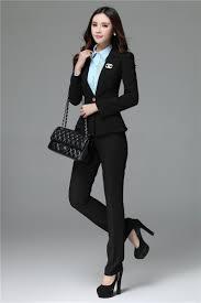 formal pant suits women business suits trousers blazer sets female formal pant suits women business suits trousers blazer sets female ladies office uniform styles pantsuits