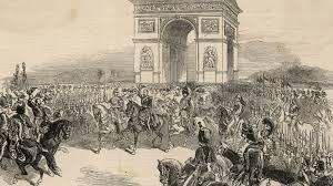 「1799, napoleon returned paris, triumphal arch, from egypt」の画像検索結果