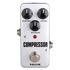 <b>Nux</b> FCP2 <b>Compressor</b> Mini <b>Guitar Effects Pedal</b>