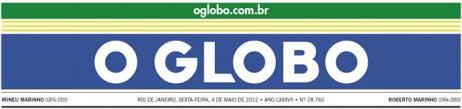 Resultado de imagem para Imagem da logo do jornal O Globo