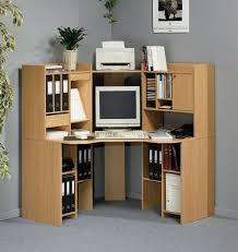interior small corner desk with storage minimalist brown stained hardwood simple computer design glossy black glass black glass top corner
