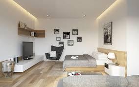 living room with bed: living room with bedroom rize studios