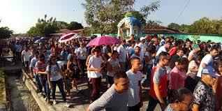 Círio de Nazaré atrai cerca e 20 mil devotos a Ourém, no Pará