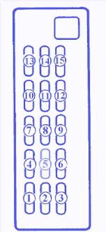 mazda 626 4 silinder 1997 fuse box block circuit breaker diagram mazda 626 4 silinder 1997 fuse box block circuit breaker diagram