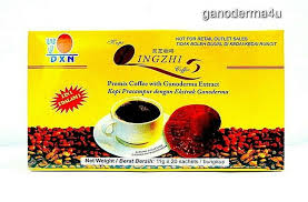 6 Boxes DXN Lingzhi <b>2 in 1 Ganoderma</b> Black Coffee Reishi Instant ...