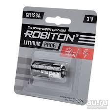 <b>Батарейка Robiton CR123A</b> 3V — купить в Красноярске ...