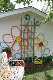 designs outdoor wall art: wall art designs outdoor wall art decor make flowers from hoses for outdoor house decor