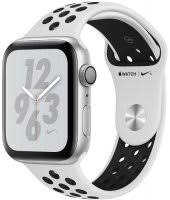 <b>Умные часы Apple Watch</b> S4 <b>Nike+</b> 40mm Silver Aluminum Case ...