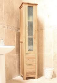 mobel oak closed bathroom unit tall baumhaus mobel solid oak printer