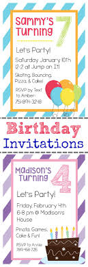 best ideas about birthday invitation templates printable birthday invitation templates