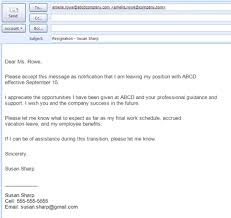 examples of letters of resignation samples    examples of letters of resignation samples