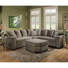 Upholstery Living Room Furniture Simmons Upholstery Roxanne Sectional Reviews Wayfair