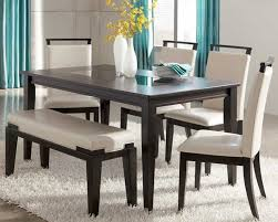 dining room table and chairs white