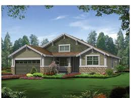 Modern Contemporary House Plans Craftsman One Story House Plans    Modern Craftsman House Plans Craftsman House Plans Ranch Style