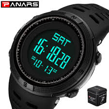 Digital Watch <b>Men Sports Electronic Watch</b> Military PANARS ...