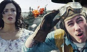 Midway FIRST LOOK: Explosive trailer sees Nick Jonas and Mandy ...