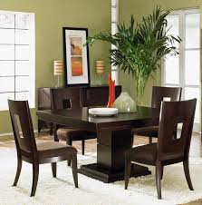 modern asian dining rooms home  asian wall art corner indoor plants in modern green dining room