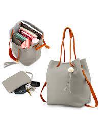 Oct17 - <b>Fashion Tassel</b> buckets Tote Handbag Women Messenger ...
