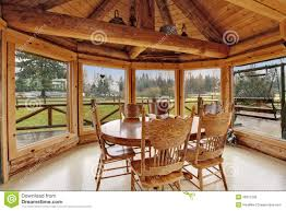 Log Dining Room Tables Log Cabin Dining Room Beautiful Dining Room In Log Cabin House