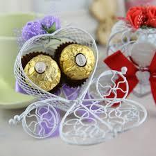 <b>10pcs</b>/<b>set</b> carriage chocolate candy box birthday wedding party ...