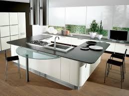 countertops dark wood kitchen islands table:  kitchen unique island countertops dark cabinet designs oak custom beige granite countertop grey seamless stainless steel