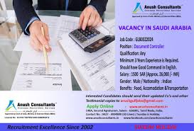 required document controller for a leading company in saudi required document controller for a leading company in saudi