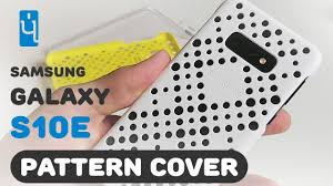 <b>Чехол</b> накладка для <b>Samsung Galaxy</b> S10e. <b>Pattern Cover</b> ...