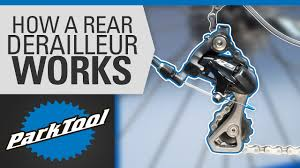 How a <b>Rear Derailleur</b> Works - YouTube