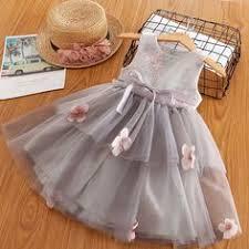 Cute Flower <b>Girls Embroidery</b> Dress Toddler <b>Girls Summer</b> Party ...