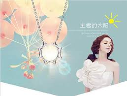 Weishu Korean drama <b>master's</b> sun titanium necklace <b>925 sterling</b> ...