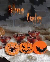 <b>Halloween Theme</b> Coasters - Free <b>Pattern</b>   Craft Passion ...