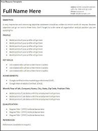 Free Resume Templates   Builder Online For Students Sample Resumes     erikjohnsonassociates com