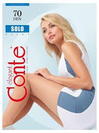 Купить <b>Колготки Conte SOLO</b> 70 nero, размер 4 с доставкой по ...