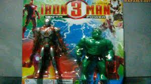 fake iron man and hulk action figure bootleg toy hd bootleg iron man 2 starring