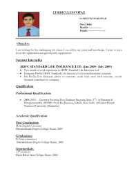 format of a resume for applying a job template format of a resume for applying a job