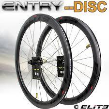 <b>Elite</b> Carbon Wheels <b>Disc Brake</b> 700c <b>Road</b> Bike Wheelset Entry ...