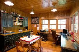 corner desk with hutch home office rustic with art room breakfront cabin custom office desk hutch built corner desk home