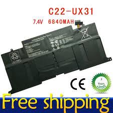 New Genuine OEM Asus Ultrabook <b>UX31 UX31A</b> Battery <b>7.4V</b> ...