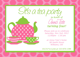 tea party invitations com tea party invitations as well as having up to date invitatios card fantastic invitation templates printable 8