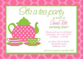 tea party invitations hollowwoodmusic com tea party invitations as well as having up to date invitatios card fantastic invitation templates printable 8