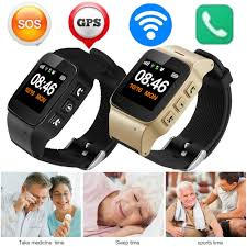 2020 Elderly <b>Smart Watch Anti lost</b> SOS Wifi <b>GPS</b> LBS Tracking Sim ...