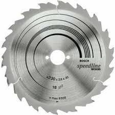 <b>Диск пильный Bosch 230х30мм</b> 18зубьев Speedline Wood (2.608 ...