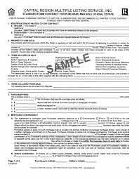 doc 460595 s contract sample contract for the of real estate contract template sample standard form contract for s contract sample