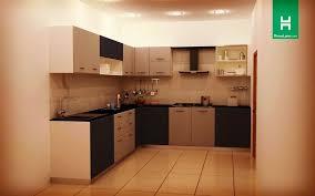 shaped kitchen modular
