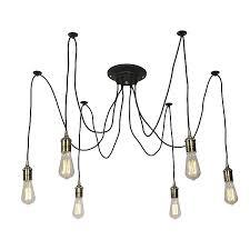 <b>Подвесной</b> светильник - <b>Люстра</b> паук Эдисон <b>Omnilux OML</b> ...