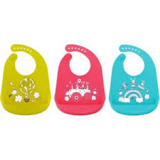 <b>Нагрудник</b> для кормления <b>Happy Baby</b> BIB Pocket силиконовый ...
