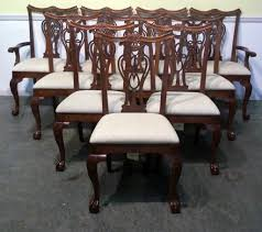 Chippendale Dining Room Table Thomasville Dining Set Solid Wood Dining Room Set 562 Inspiration