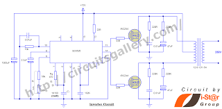 component  timer block diagram  timer ic inverter circuit      timer ic inverter circuit schematic  v to  v circuits gallery block diagram of sg