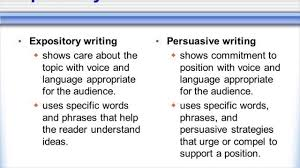 difference between expository and persuasive difference between expository and persuasive